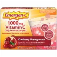 Emergen-C Cranberry-Pomegranate Dietary Supplement Fizzy Drink Mix - 30 ct / 0.30 oz