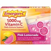 Emergen-C Pink Lemonade Dietary Supplement Fizzy Drink Packets