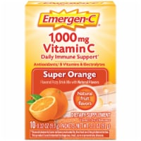Emergen-C Super Orange Dietary Supplement Fizzy Drink Mix