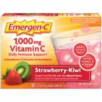 Emergen-C Strawberry-Kiwi Dietary Supplement Fizzy Drink Packets