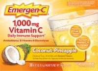 Emergen-C Coconut-Pineapple Dietary Supplement Fizzy Drink Mix Packets