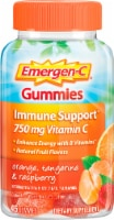Emergen-C Orange Tangerine and Raspberry Dietary Supplement Gummies