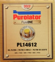 Purolator PureOne PL14612 Oil Filter - 1 ct