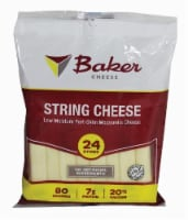 Baker Part-Skim Mozzarella String Cheese