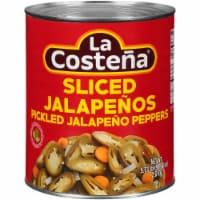 La Costena Sliced Jalapeno Peppers - 5.73 lb