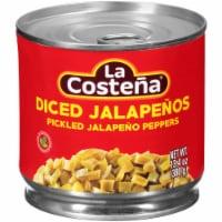 La Costena Diced Jalapeno Peppers - 13.4 oz