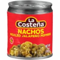 La Costena Nachos Pickled Jalapeno Pepper Slices