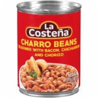 La Costena Charro Beans - 20 oz