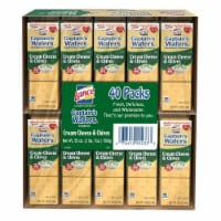Lance Captain's Wafers Cream Cheese and Chives (40 Pack) - 1 unit