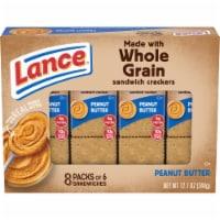 Lance Real Peanut Butter Whole Grain Sandwich Crackers