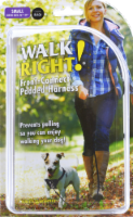 Coastal Walk Right! Small 16 - 24-Inch Front-Connect Padded Harness - Black - 1 ct
