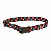 Coastal Pet 2629-RBA Pet Attire Styles Adjustable Collar, Rebecca Black & Argyria - 1 in.