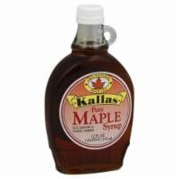 Kallas Pure Maple Syrup - 12 Fl Oz