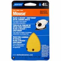 Norton Mouse® Assorted Grits Detail Sanding Sheets - 5 pk