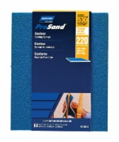 Norton  ProSand  5.5 in. L x 4.5 in. W x 0.188 in.  220 Grit Very Fine  Contour  Sanding - Count of: 1