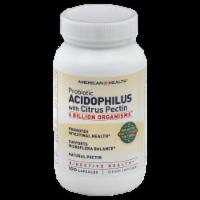 American Health Acidophilus W Pectin Caps