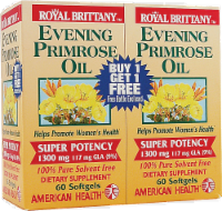 American Health Evening Primrose Oil Softgels 1300mg