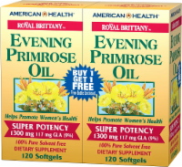 American Health Evening Primrose Oil 1300 mg Dietary Supplement