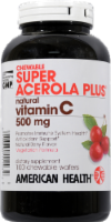 American Health Super Acerola Plus Chewable Wafers
