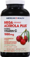 American Health Acerol Plus Berry Flavored Vitamin C Tablets 1000 mg - 60 ct