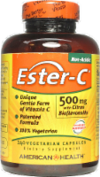 American Health Ester-C 500 mg with Citrus Bioflavonoids Vegetarian Supplement