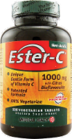 American Health Ester-C 1000 mg with Citrus Bioflavonoids Vegetarian Supplement