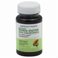 American Health Papaya Enzyme With Chlorophyll Chewable Tablets - 100 Count