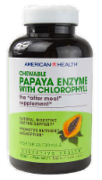 American Health Papaya Enzyme With Chlorophyll