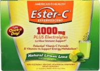 American Health  Ester-C® Effervescent   Natural Lemon Lime