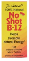 World Organic  Dr. Natural® No Shot B-12