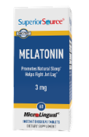 Superior Source Melatonin Dissolving Tablets 3mg - 60 ct