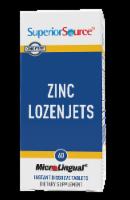 Superior Source Zinc Lozenjets Dissolving Tablets