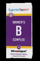 Superior Source Women's B Complex Instant Dissolve Tablets 60 Count - 60 ct