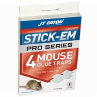 JT Eaton Stick-Em Glue Trap For Insects and Mice 4 pk - Case Of: 24; Each Pack Qty: 4; Total - Case of: 24