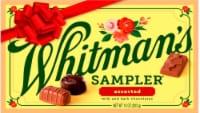 Whitman's Assorted Milk and Dark Chocolates Sampler - 10 oz