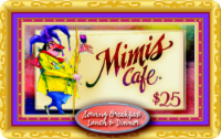 Mimi's Cafe $25 Gift Card