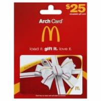 McDonald's $25 Gift Card