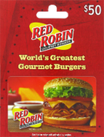 Red Robin $50 Gift Card - 1 ct