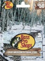 Bass Pro Shops $50 Gift Card