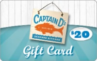 Captain D's Seafood Kitchen $20 Gift Card - 1 ct