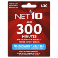 Net10 Wireless 300 Minutes Phone Card
