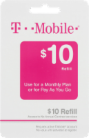 T-Mobile $10 Gift Card