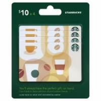 Starbucks $10 Gift Card Multipack