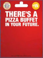 Cici's Pizza $15 Gift Card