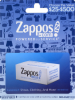 Zappos Variable Amount Gift Card - 1 ct
