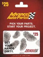 Advance Auto Parts $25 Gift Card