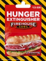 Firehouse Subs Gift Card $15-$500