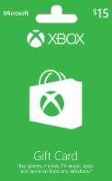 Microsoft Xbox Cash $15 Gift Card
