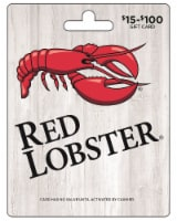 Red Lobster $15-$100 Gift Card - $0.10 removed at checkout
