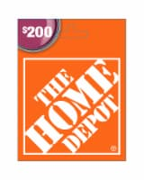 Home Depot $200 Gift Card